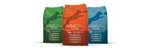 NutraGold Grain Free Product Family Bags