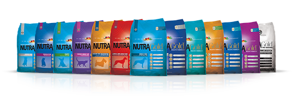 NutraGold Dog Product Family Bags